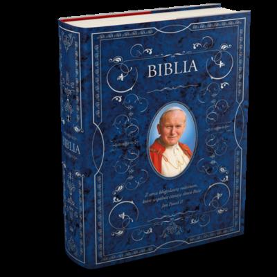 Biblia w obwolucie z JPII